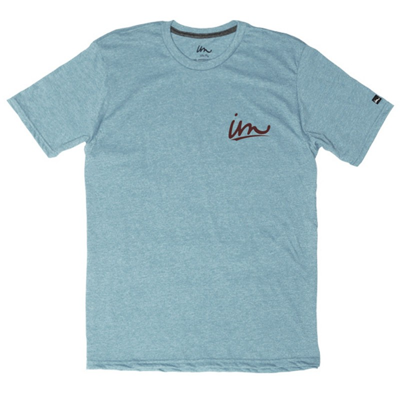 Imperial Motion Underline T-Shirt - Light Blue Heather
