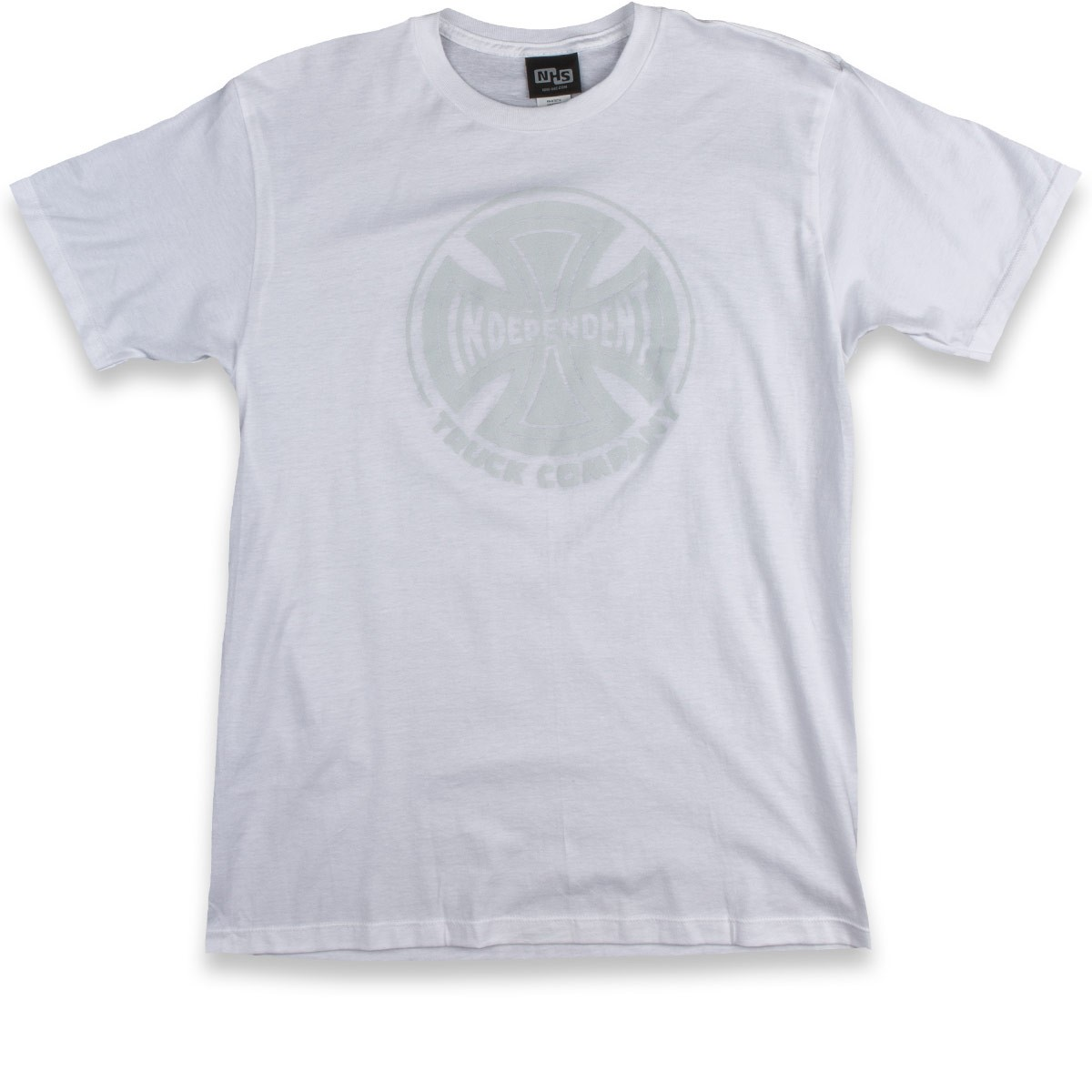 Independent Fade Cross T-Shirt - White