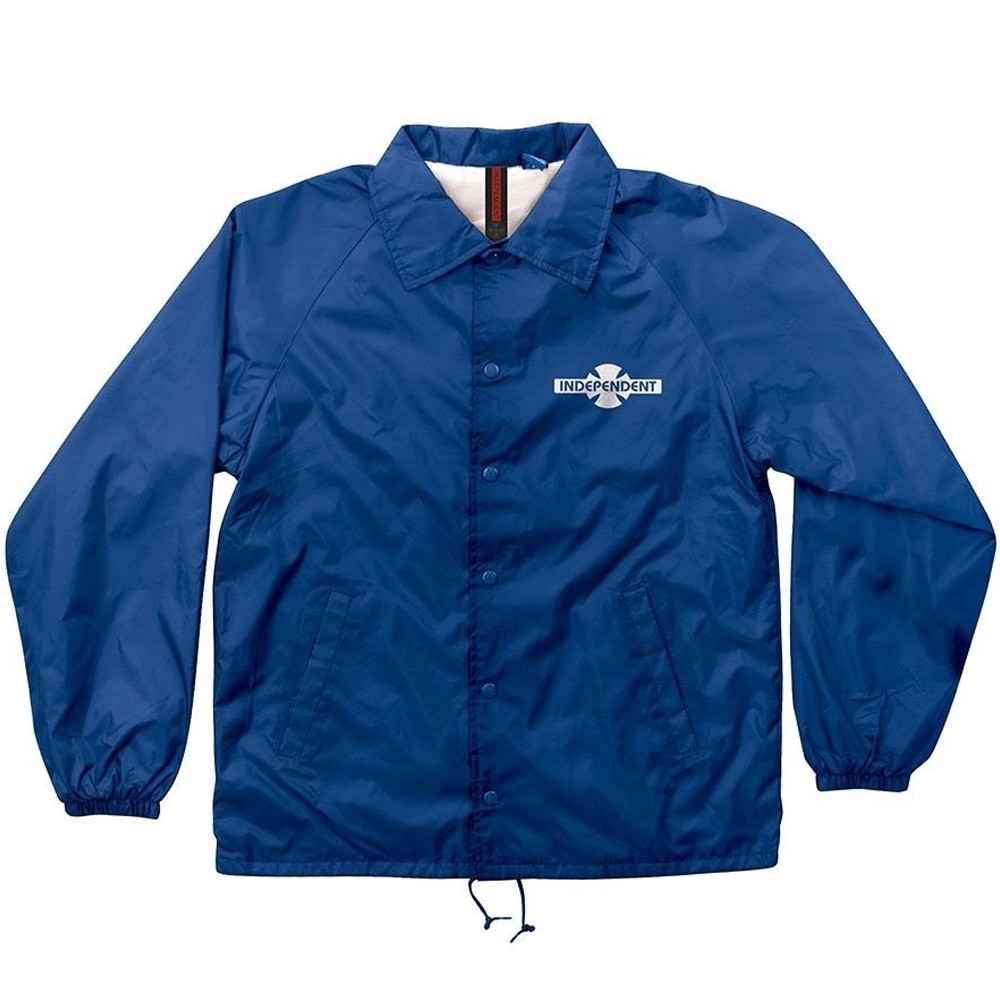 OG Pattern Coach Windbreaker Jacket - Royal Blue