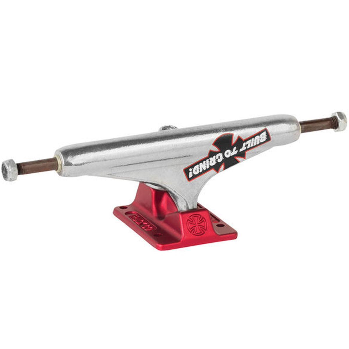 Independent Stage 11 BTG Forged Hollow Skateboard Trucks - Polished Red