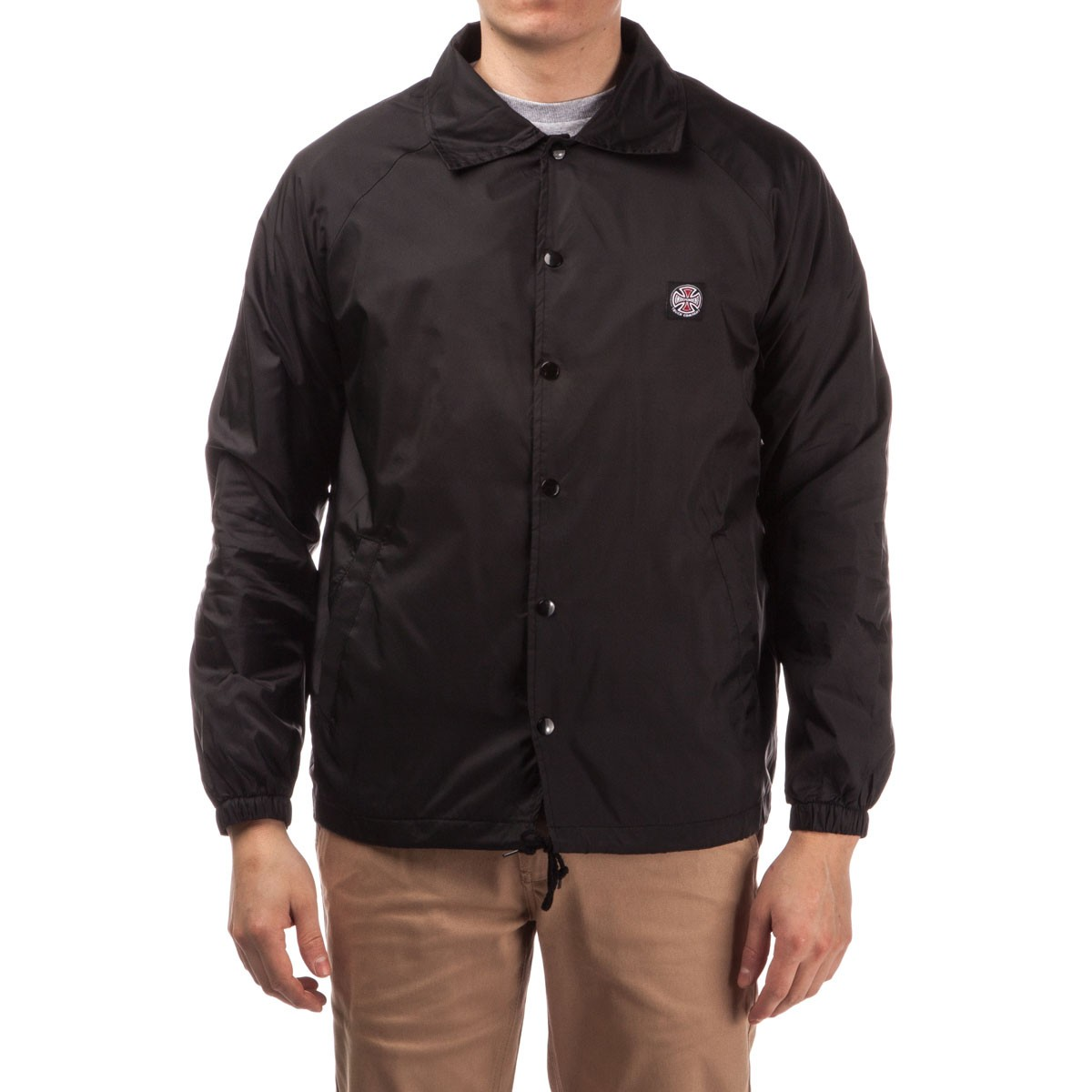 Subdue Coach Windbreaker Jacket - Black