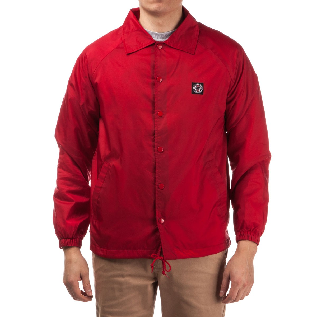Subdue Coach Windbreaker Jacket - Red