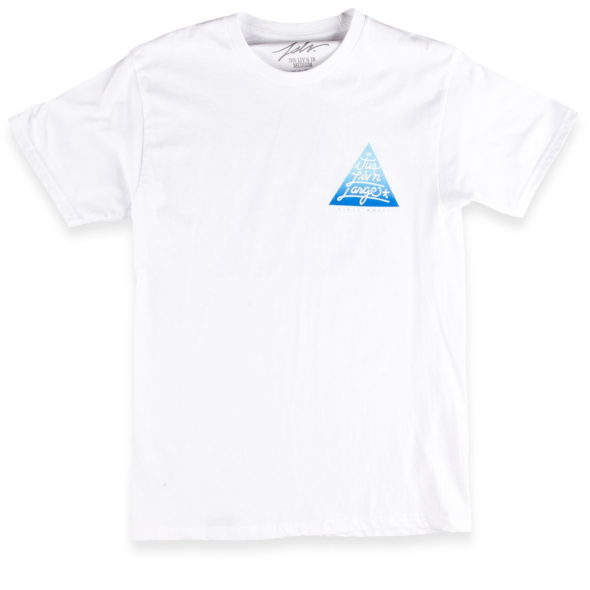 JSLV Triangle Select T-Shirt - White