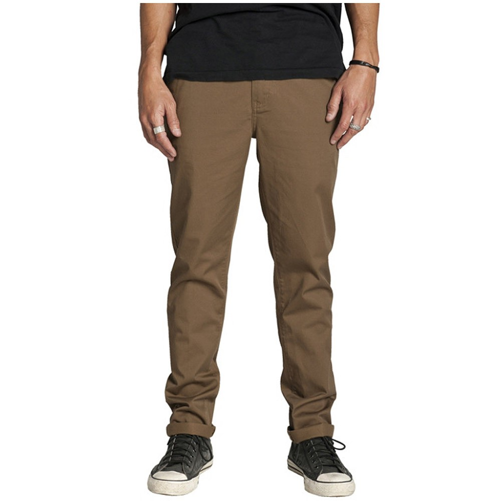 KR3W K Standard Chino Pants - Coffee