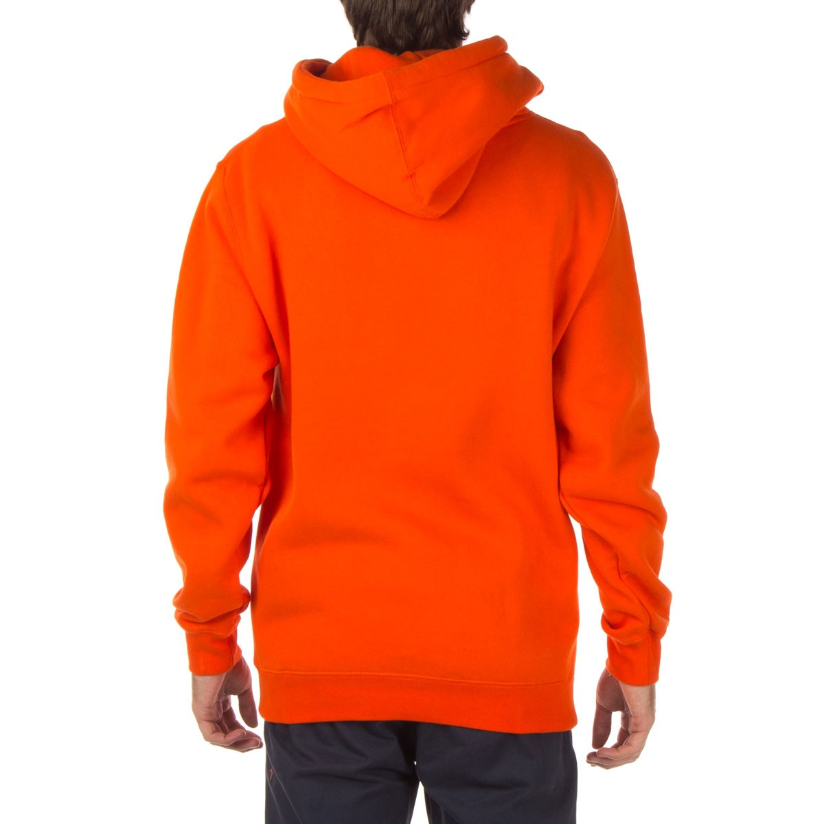 Basic Pullover Hoodie - Orange