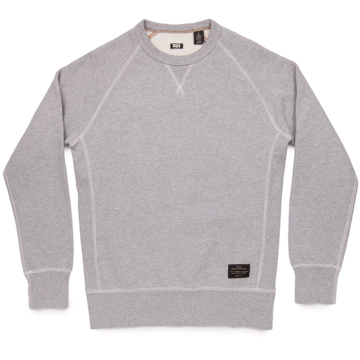 Levi's Skate Crewneck Fleece - Rollerskate Heather Grey