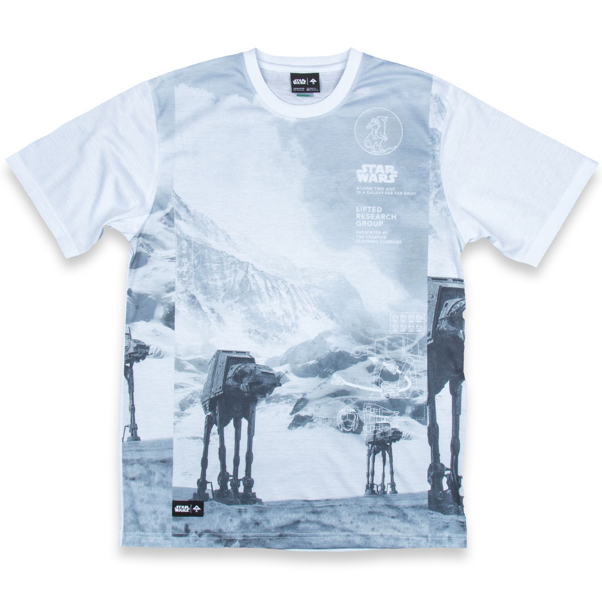 LRG Episode 4 and 5 T-Shirt - Snow