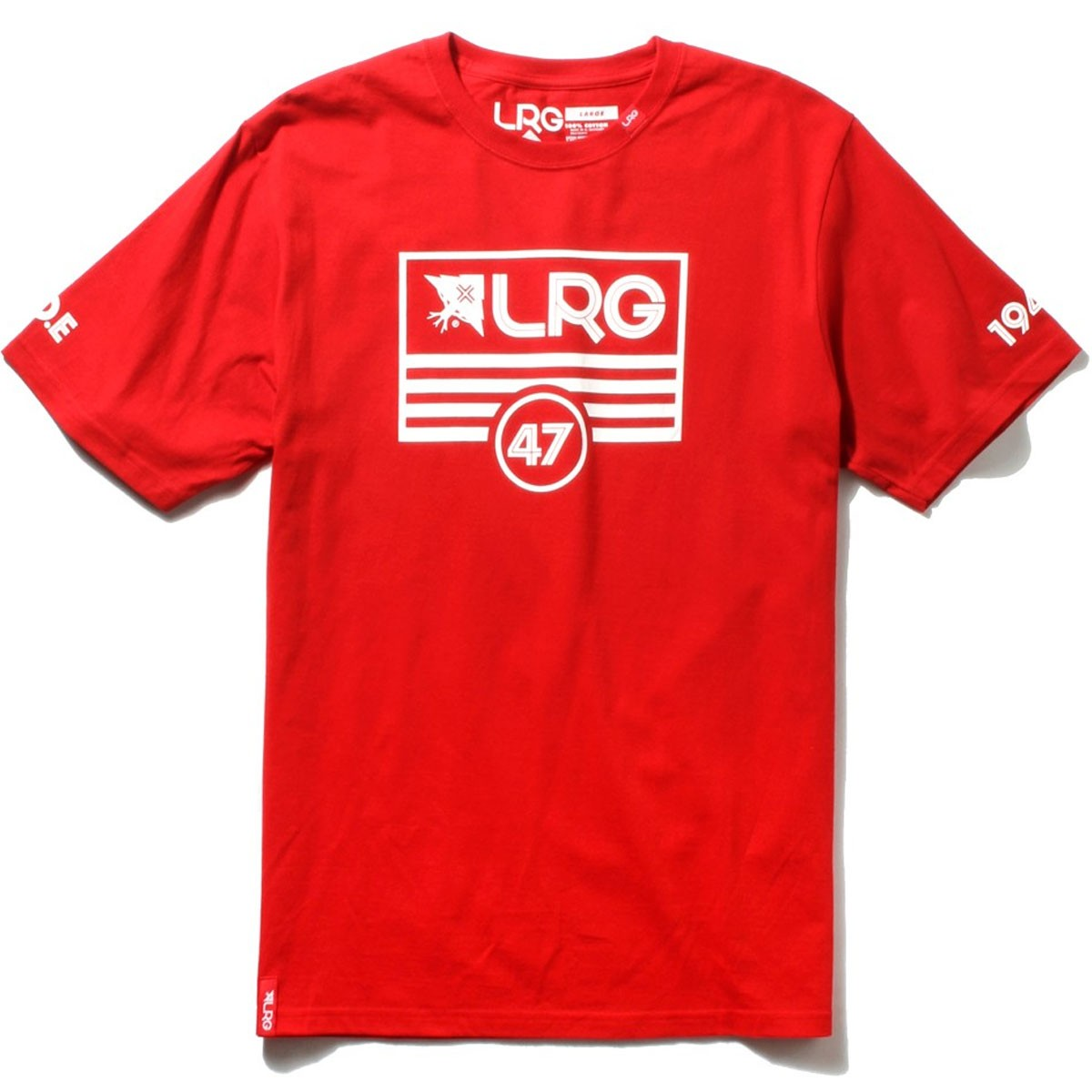 LRG Lifted Flag T-Shirt - Red