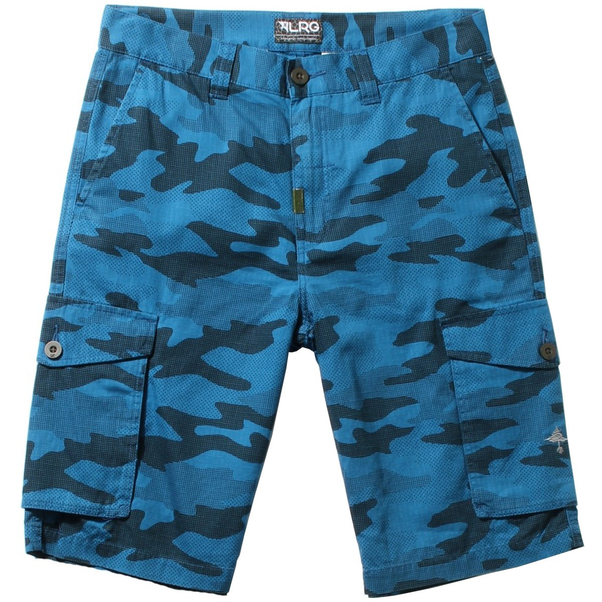 RC Cargo Shorts - Blue Camo