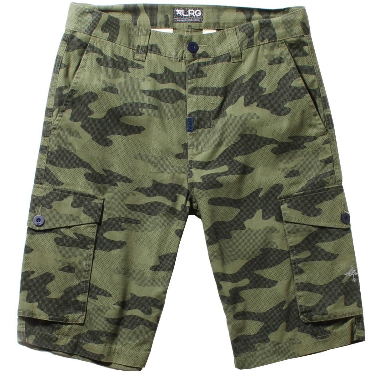 LRG RC Cargo Shorts - Olive Green Camo