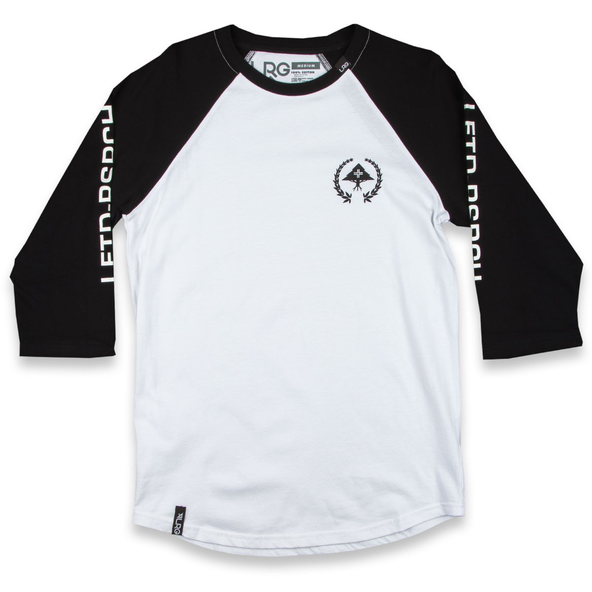 LRG RC Jersey Baseball T-Shirt - Black