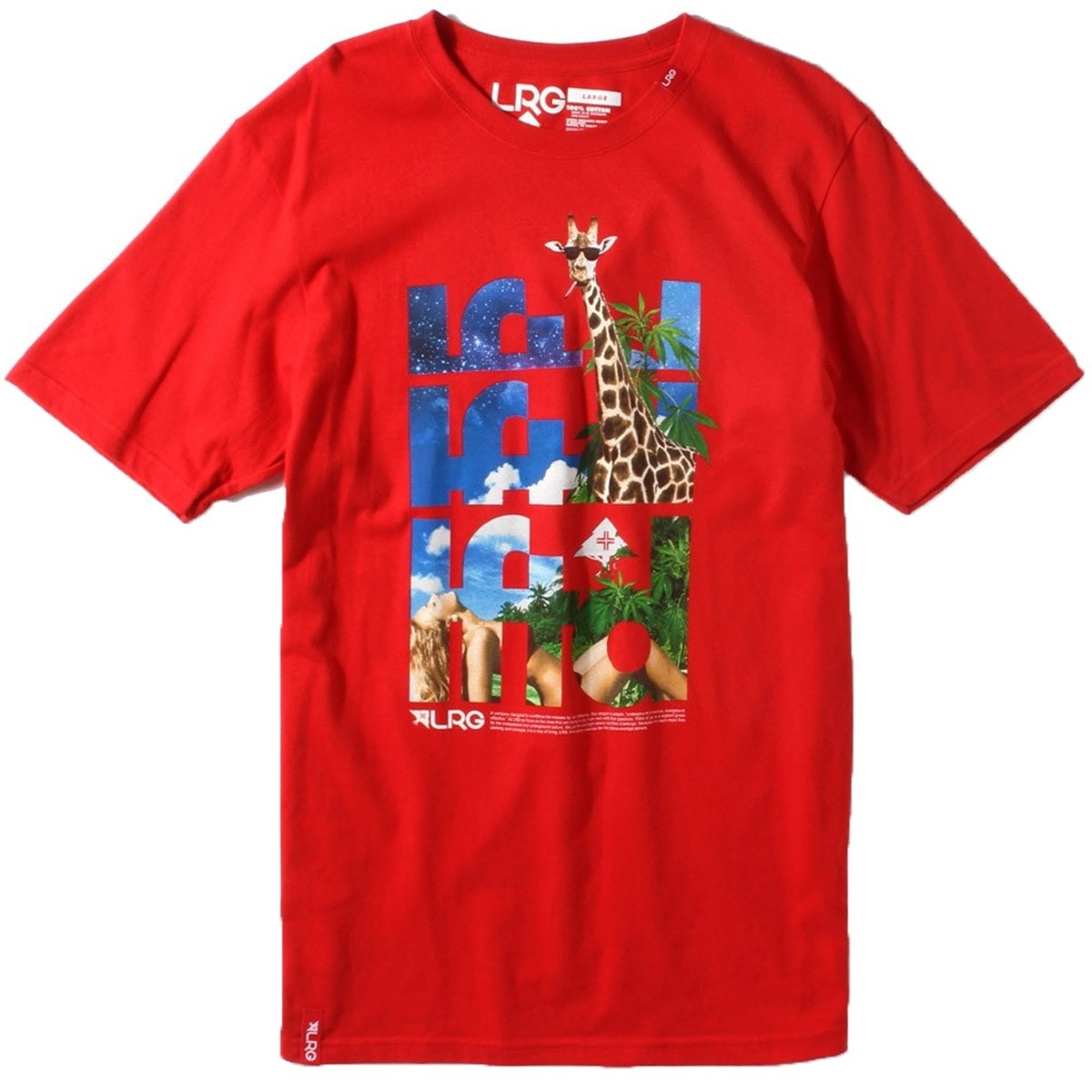 LRG Staycation T-Shirt - Red
