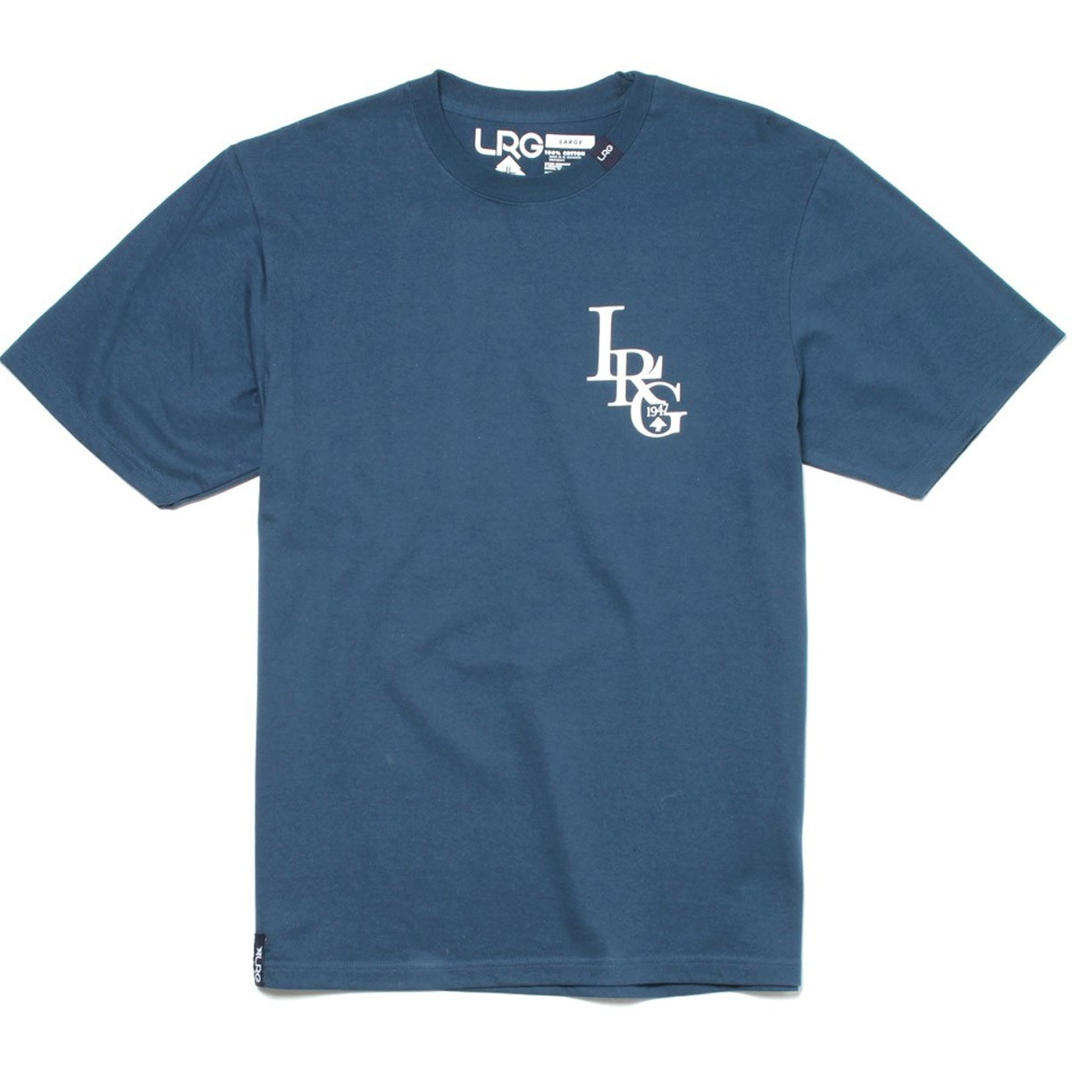 LRG Three Letter T-Shirt - Nautical Blue
