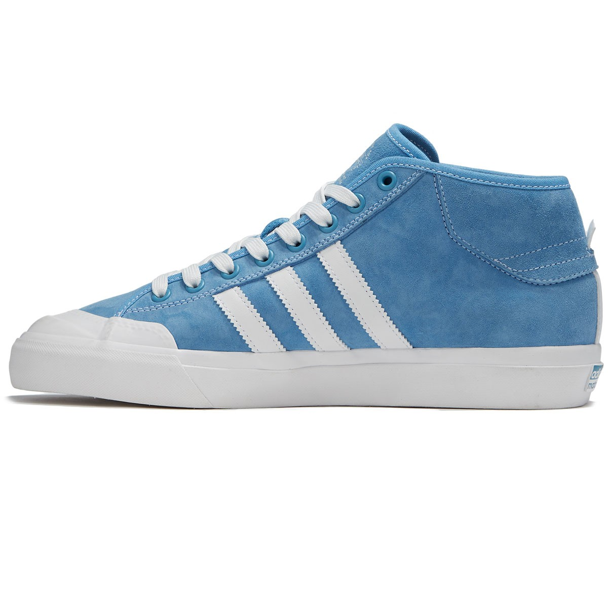 Adidas Matchcourt Mid Marc Johnson Shoes - Light Blue Neo White Gold  Metallic - 26c5c5306