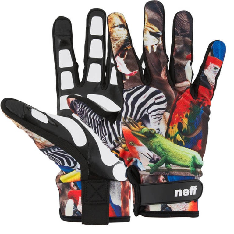 Neff Chameleon Pipe Gloves - Wildlife