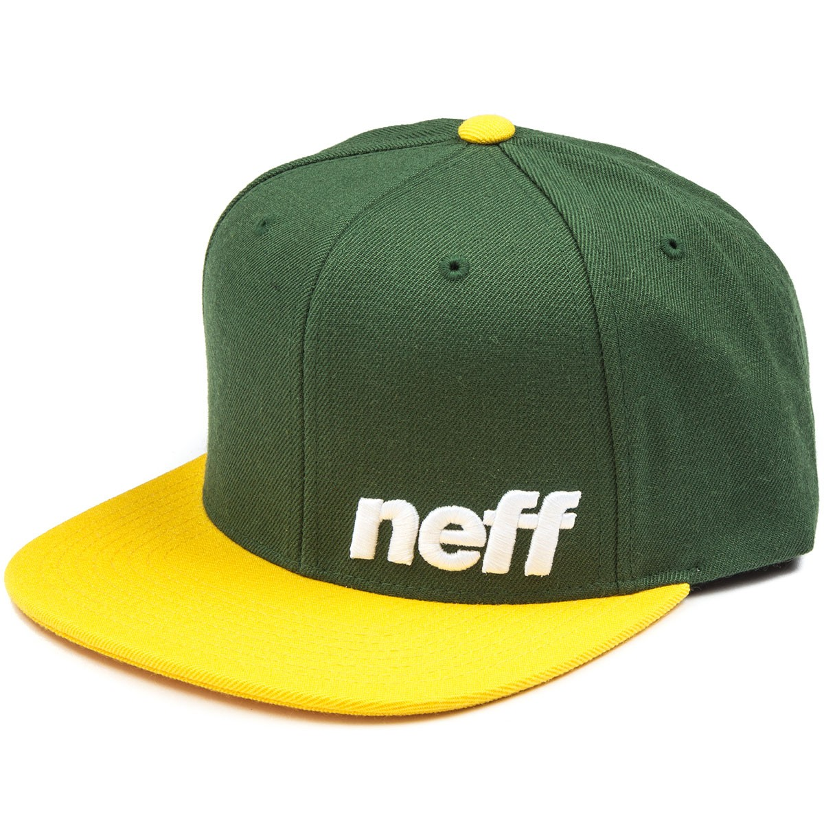 Neff Daily Hat - Green/Gold