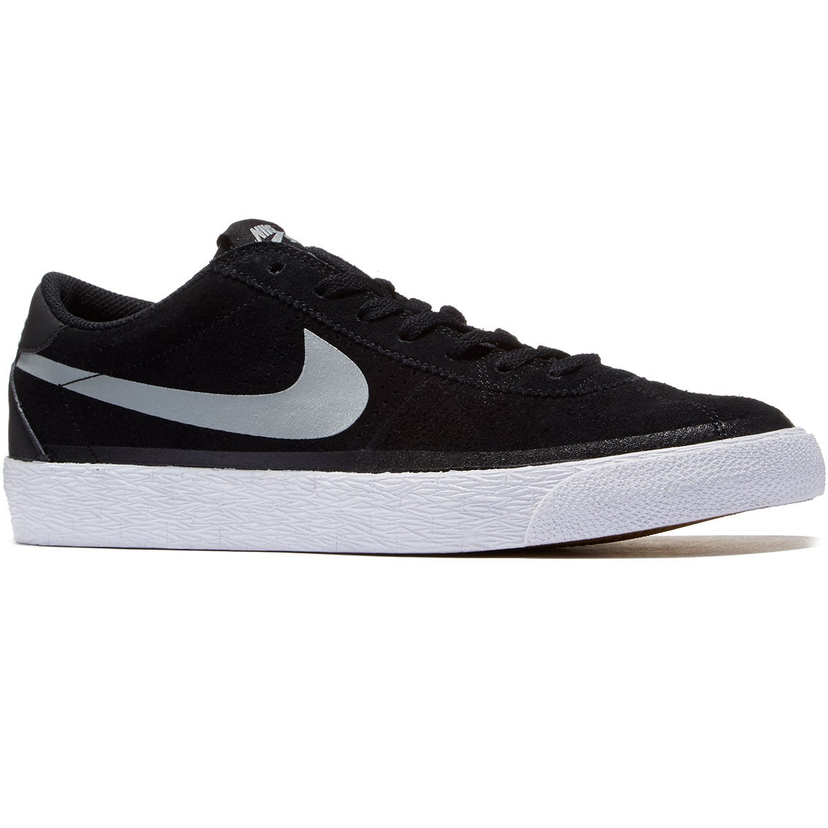 Nike Bruin SB Premium SE Shoes - Black/Base Grey/White - 10.0