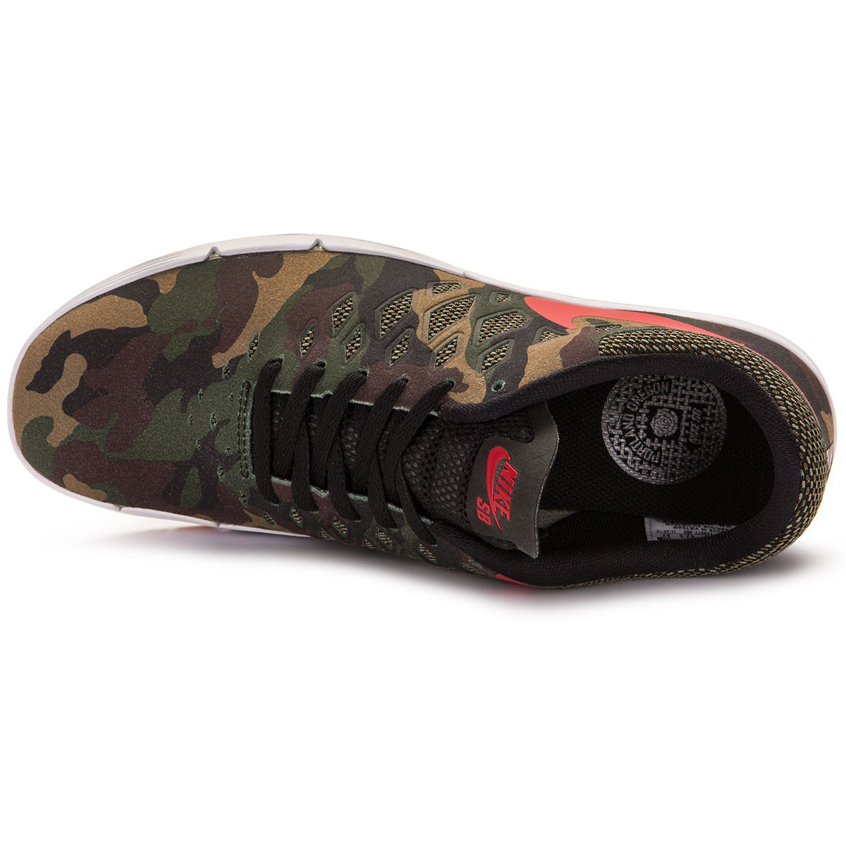 online store 6c050 a3709 Nike Free SB Rose City QS Shoes - Fortress GreenBlackRed - 14.0
