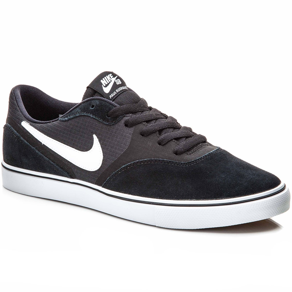 Nike Paul Rodriguez 9 VR Shoes - Black/Light Brown/White - 10.0