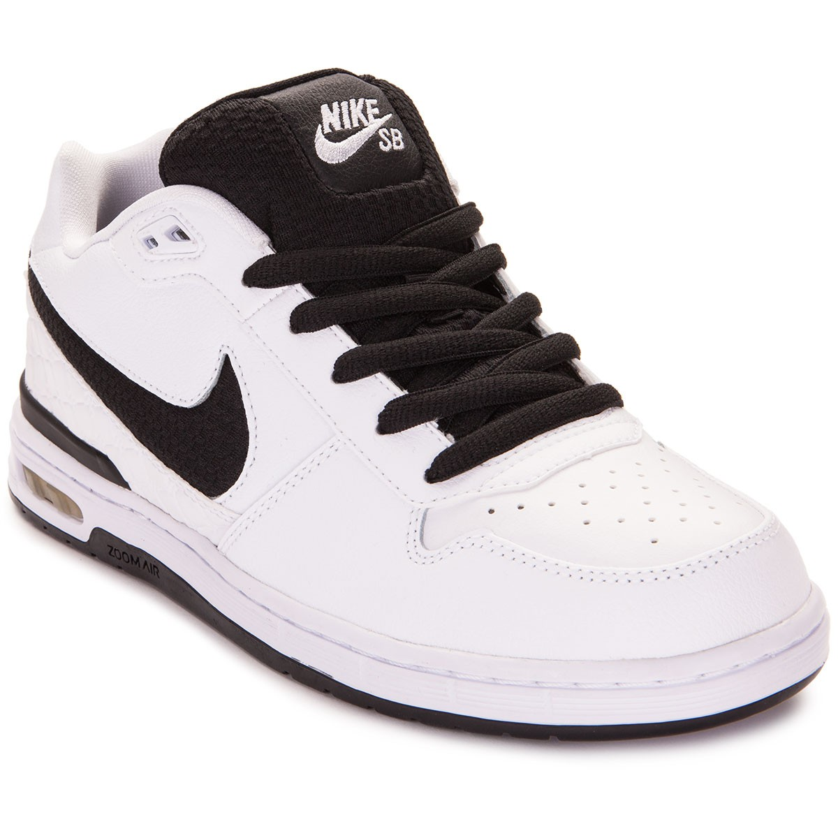 3c4cea41925114 Nike Paul Rodriguez Zoom Air Low Shoes - White Grey Black - 6.0