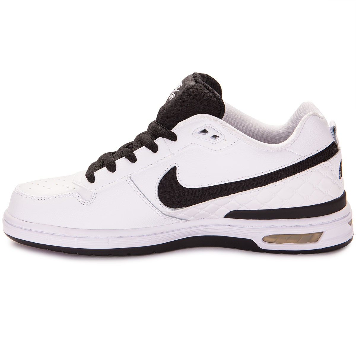 fea58c2fa4d Nike Paul Rodriguez Zoom Air Low Shoes - White Grey Black - 6.0