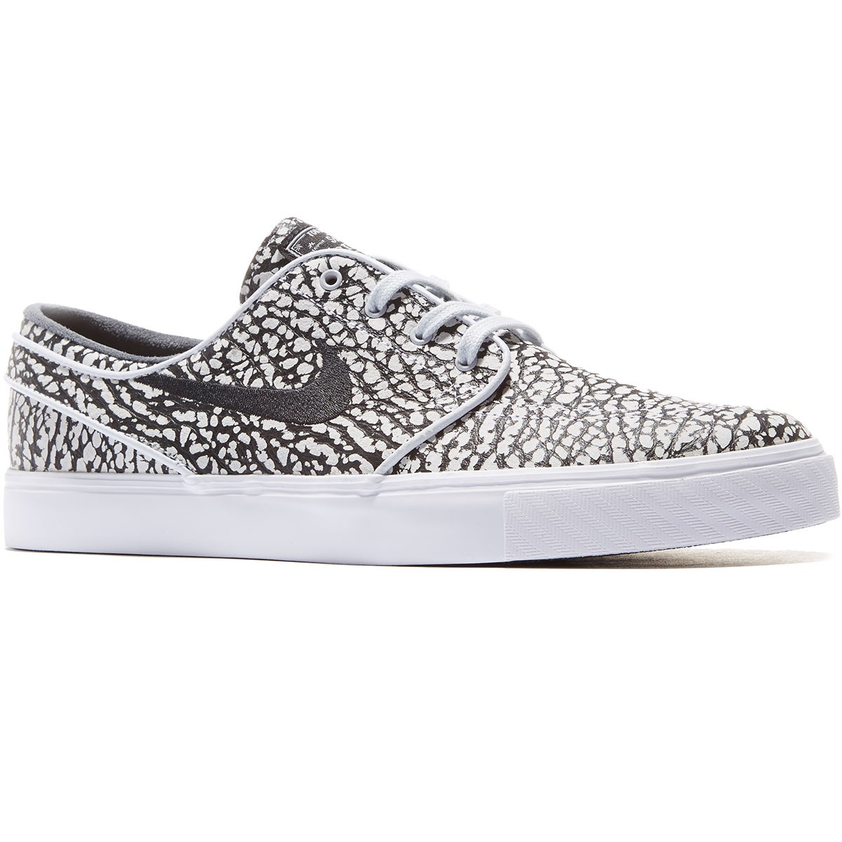 5afba4928b8 Nike Zoom Stefan Janoski Elite Road Pack Shoes - Pure Platinum White Black -