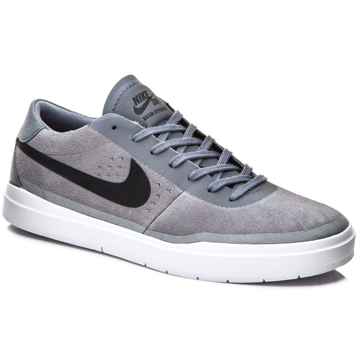 finest selection 5ff6c d0bf1 Nike SB Bruin Hyperfeel Shoes - GreyWhiteBlack - 5.0