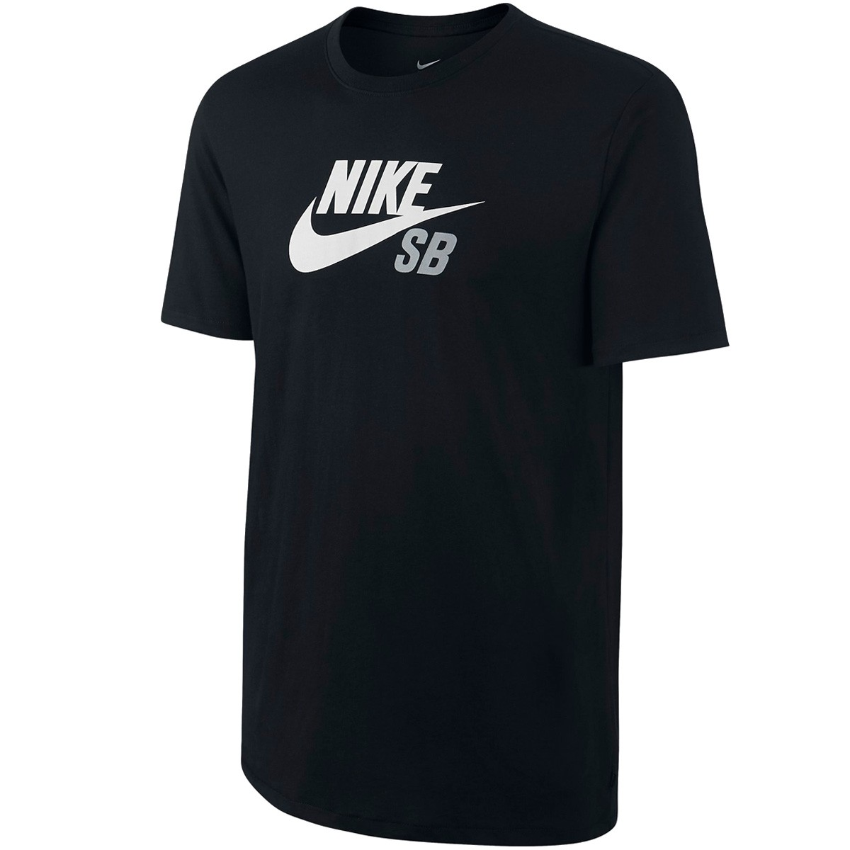Nike SB Dri Fit Icon Logo T-Shirt - Black/Black/White