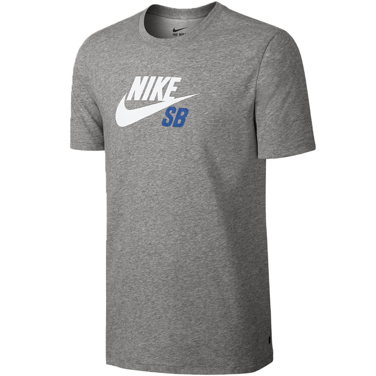 Nike SB Dri-FIT Logo T-Shirt Boys Dark Grey Heather