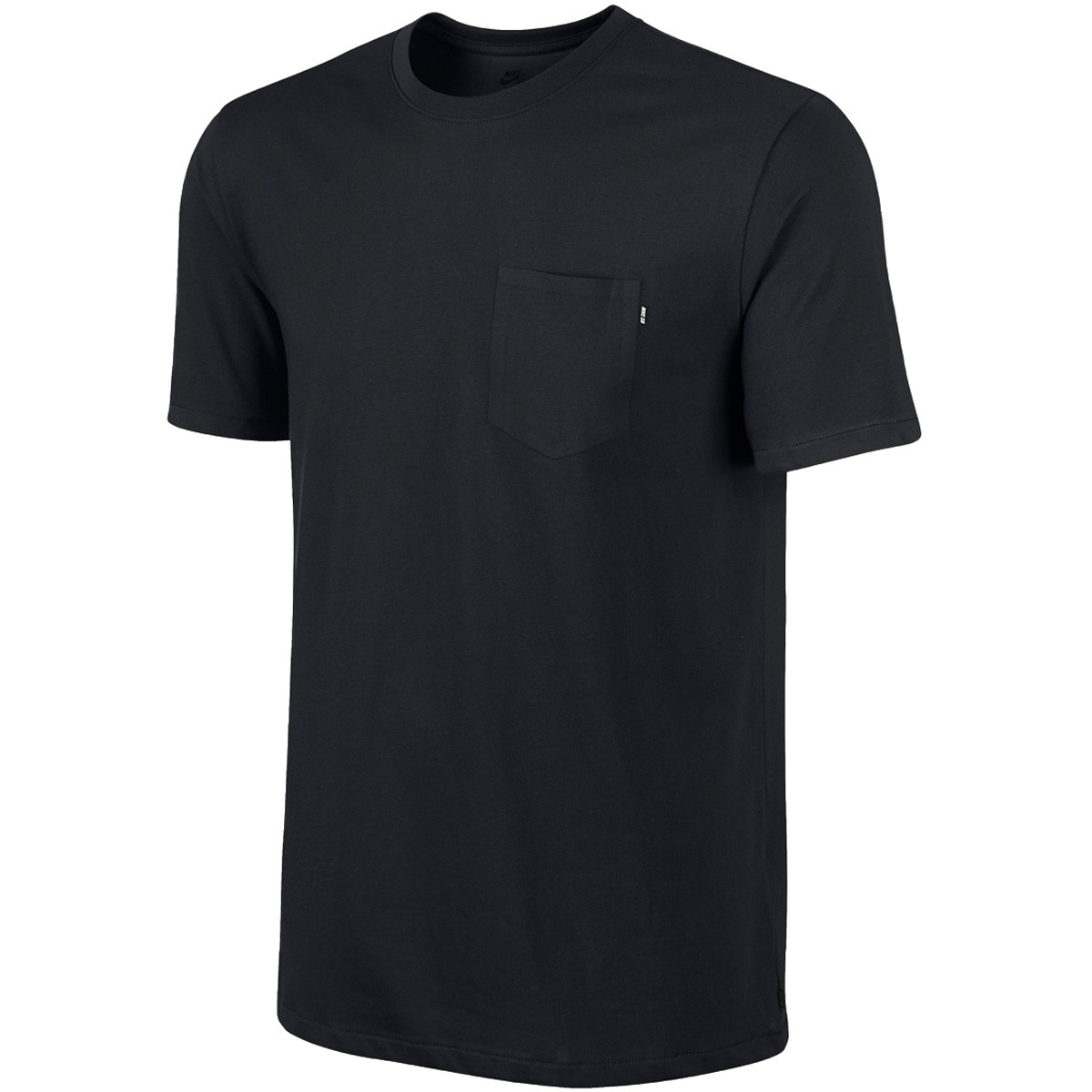 nike sb dri fit solid pocket t shirt black black
