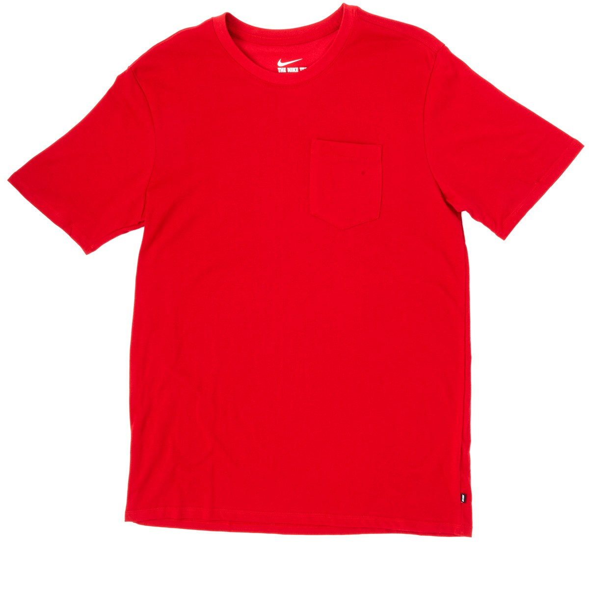 Nike Sb Dri Fit Solid Pocket T Shirt Red