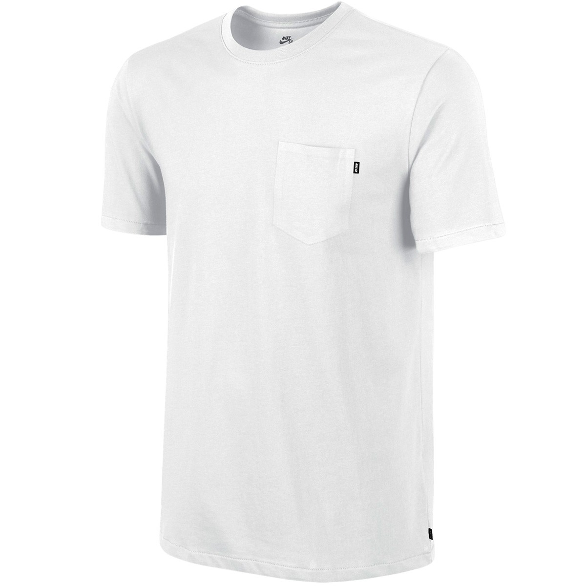 Nike SB Dri Fit Solid Pocket T-Shirt - White/White