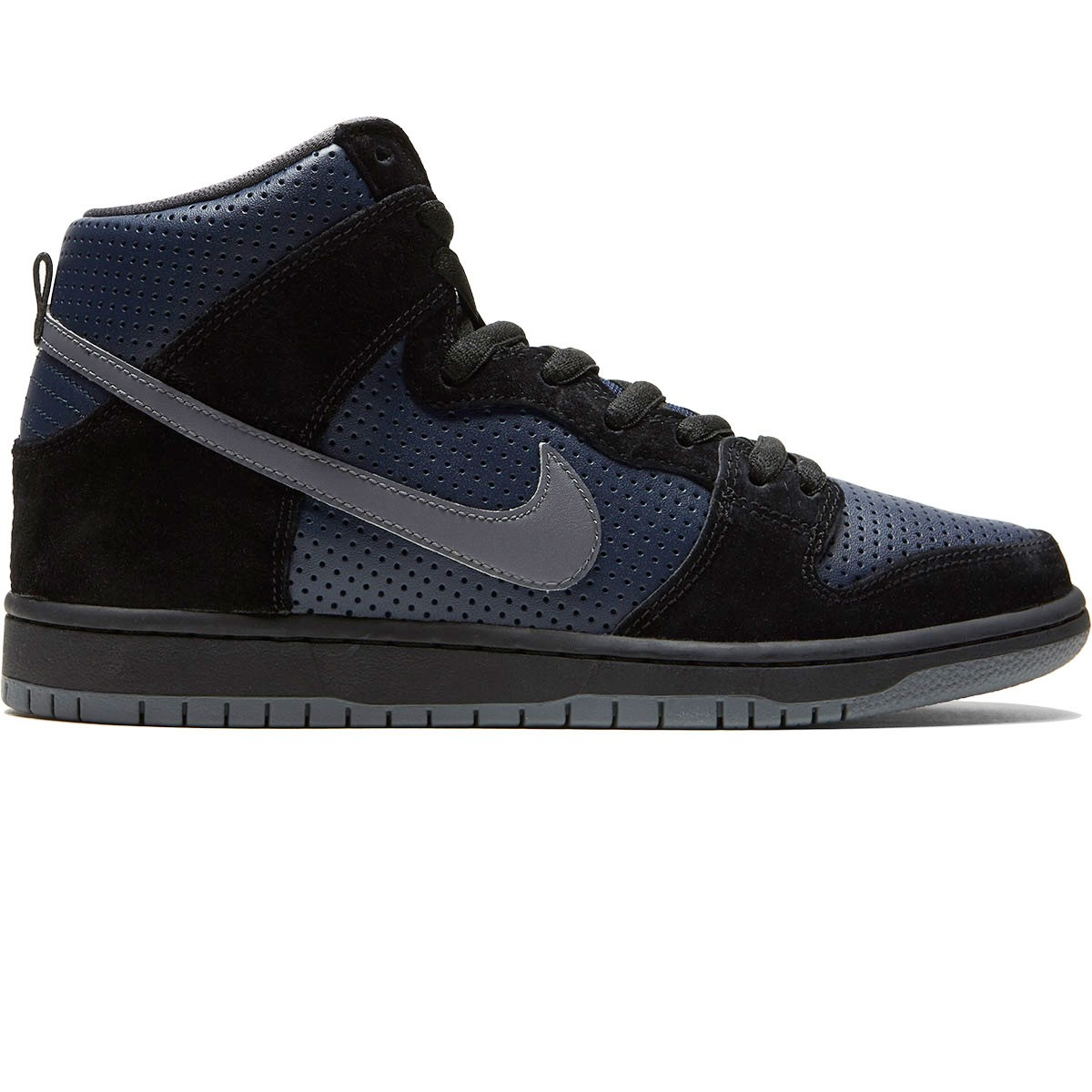 Nike SB Dunk High Gino QS Shoes - Black/Lite Graphite/Obsidian - 8.0