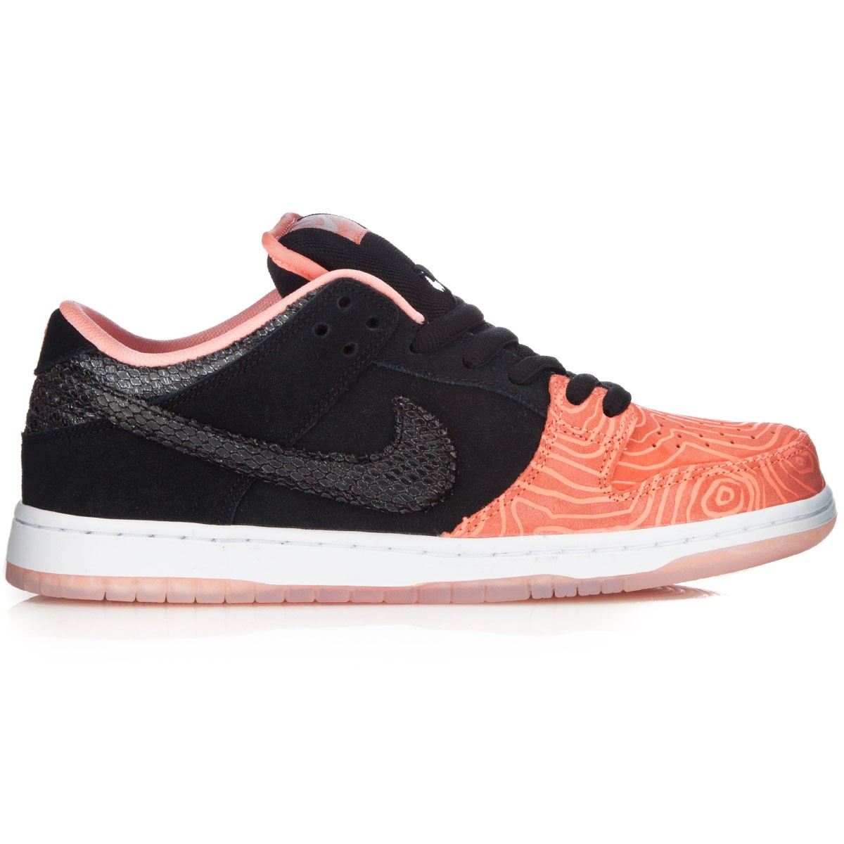 Nike sb dunk low premium shoes for Fish nike shoes