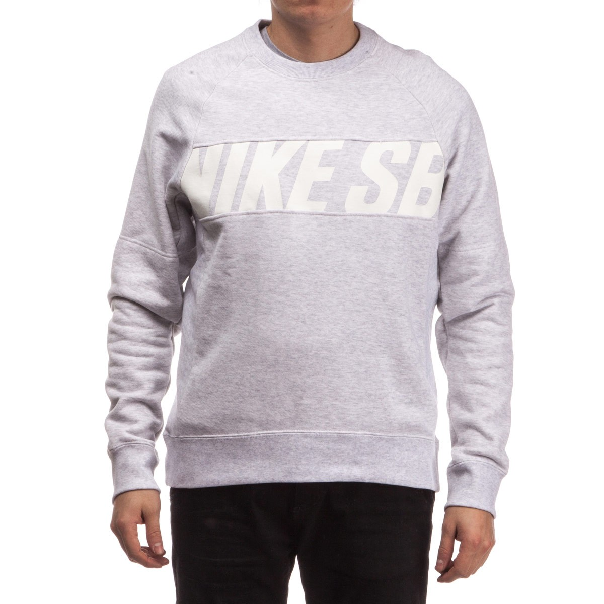 Everett Motion Crew Sweatshirt Sb Birch Heatherwhite Nike v7Uwx7