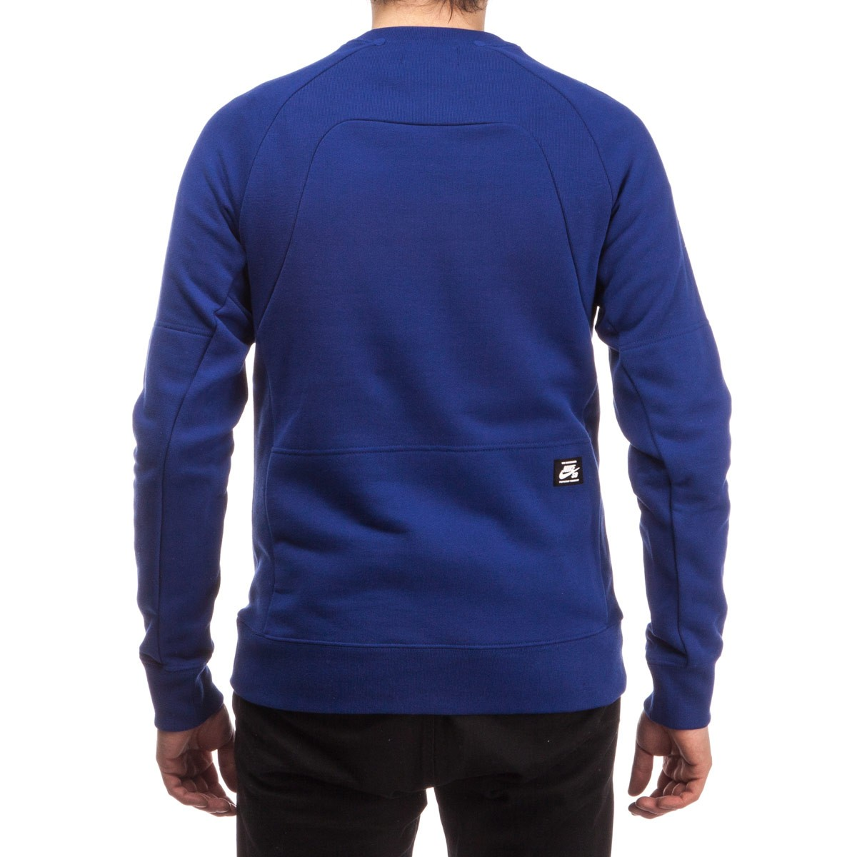 de1ee8c630f5 Nike SB Everett Motion Crew Sweatshirt - Royal Blue White