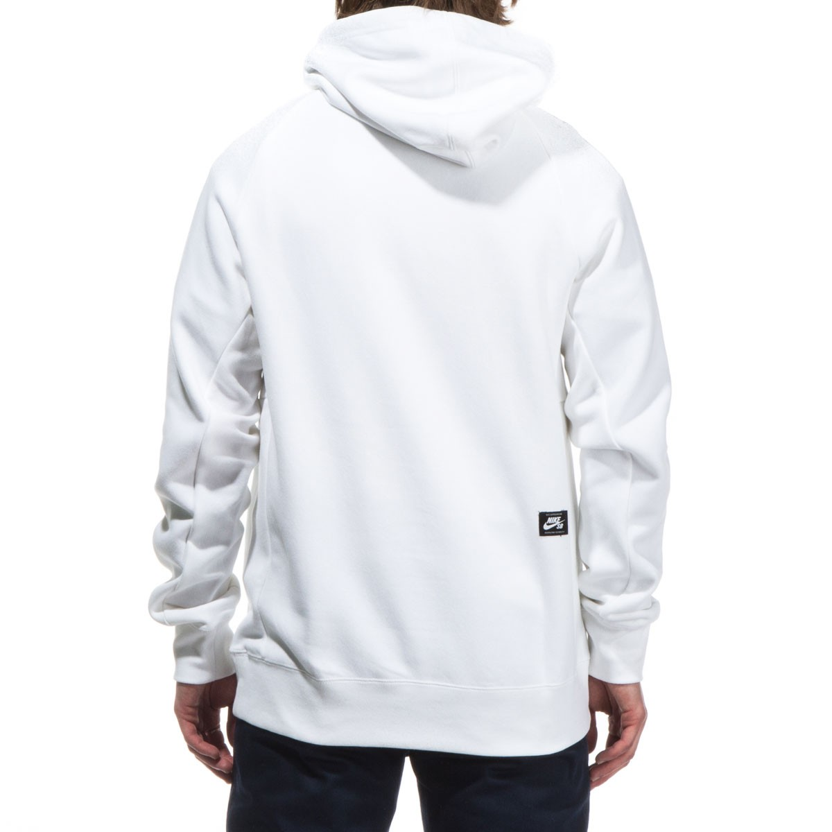SB Icon Cherry Blossom Pullover Hoodie - White/Black