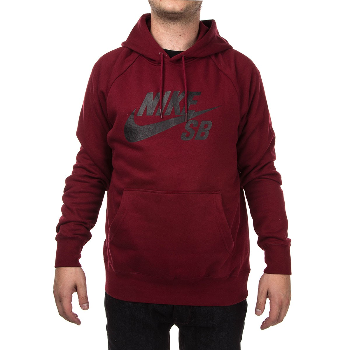 d61d74731 ... Nike SB Icon Crackle PO Hoodie - Red Black . ...