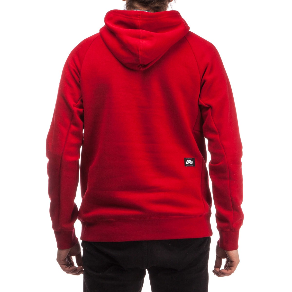 SB Icon Griptape Pullover Hoodie - Red/White