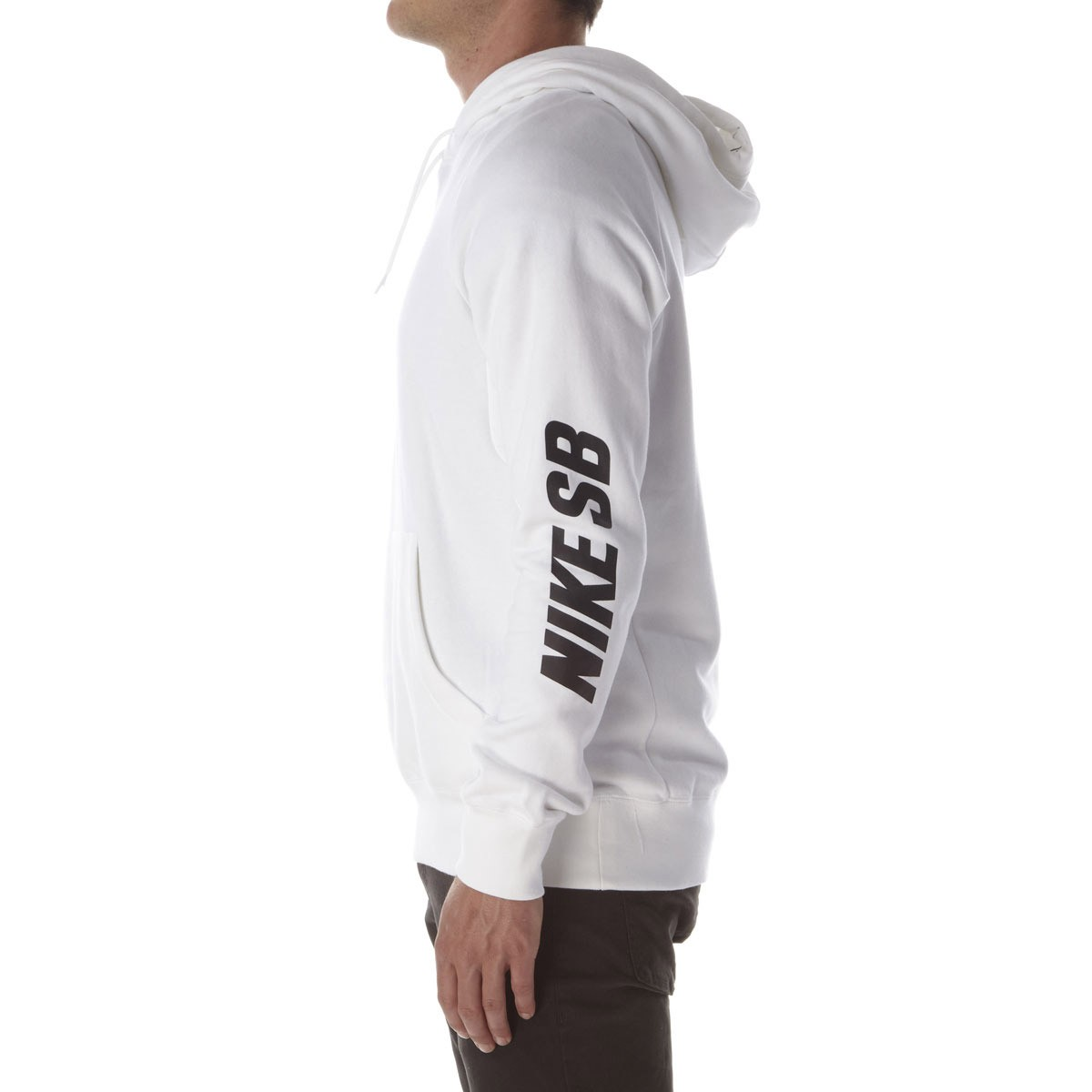SB Icon Yarn-Dye Pullover Hoodie - White/Black