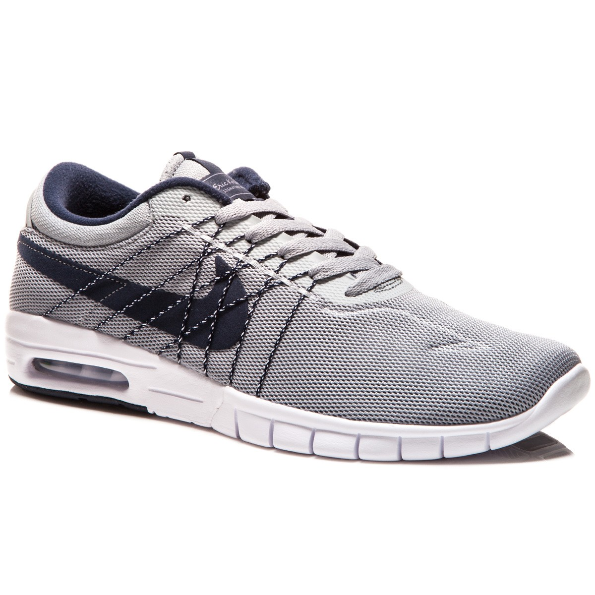 f75c80518439 Nike SB Koston Max Shoes - Grey White Obsidian - 8.0