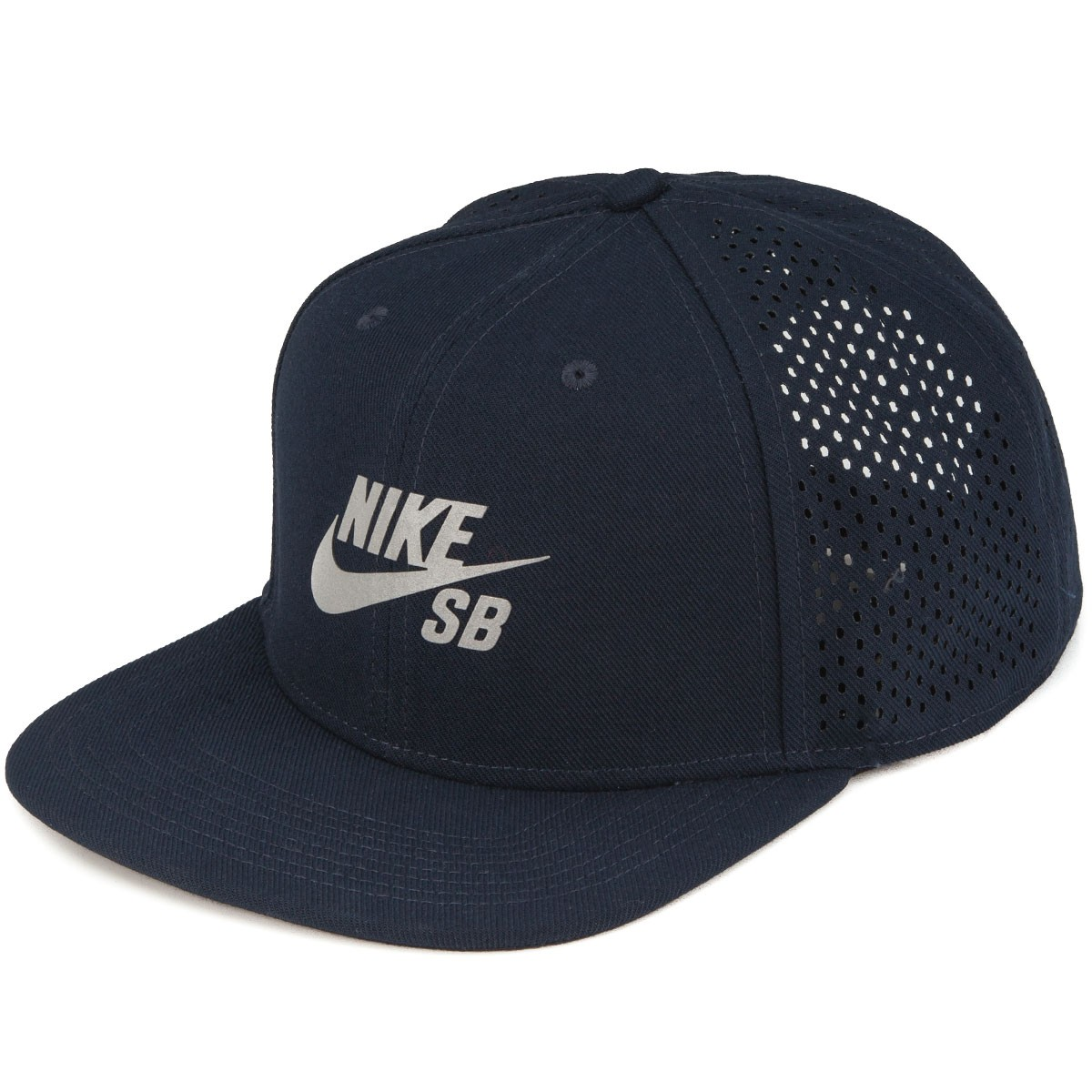 Nike SB Performance Pro Trucker Hat - Dark Obsidian Black Reflective Silver 6f0b622813f