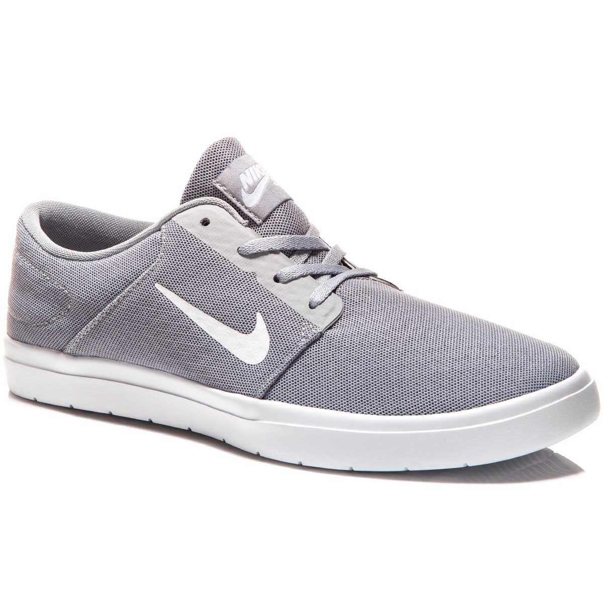 Nike SB Portmore Ultralight Shoes - Wolf Grey/Cool Grey/White - 8.0