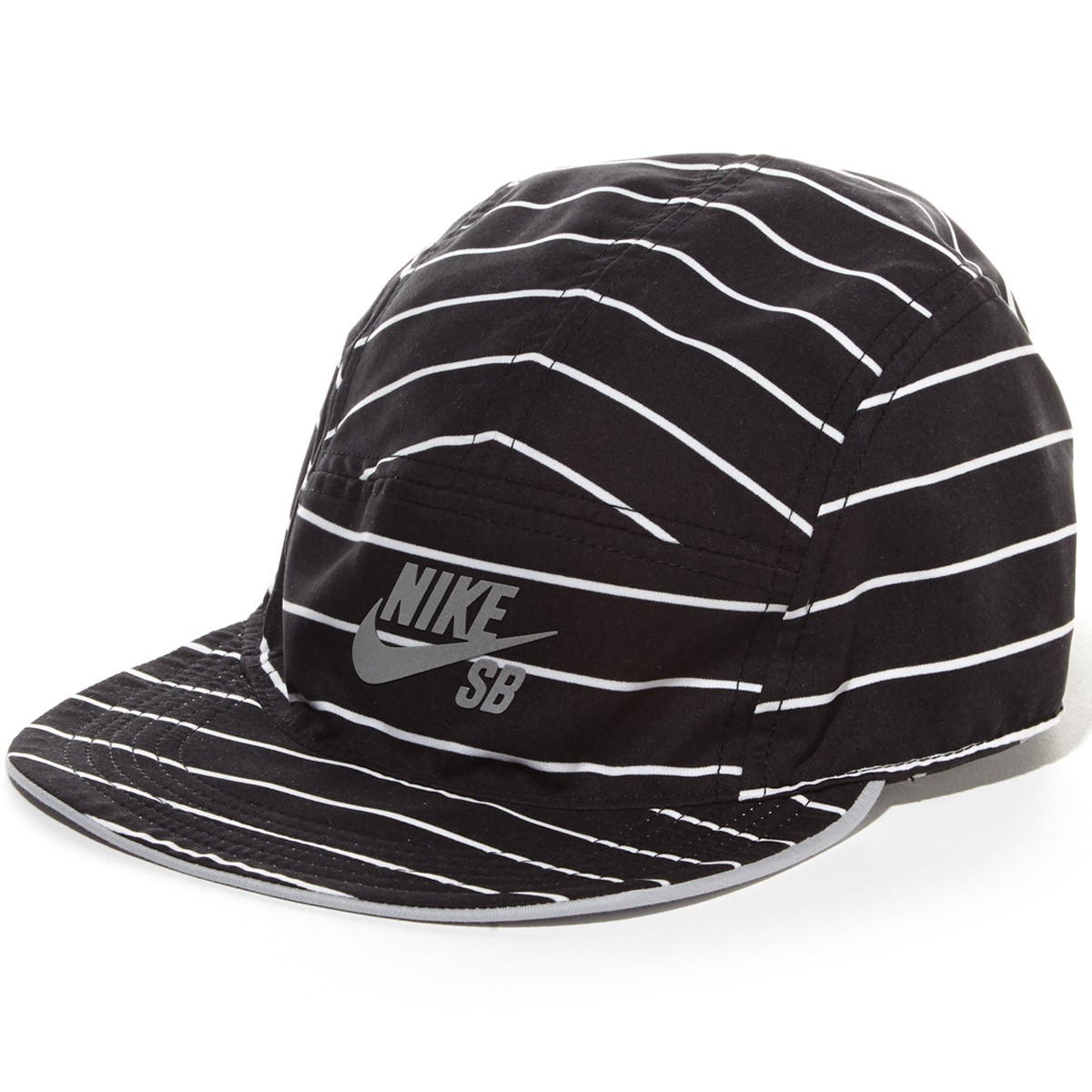 f581b51571e29 Nike SB Reversible 5 Panel Hat - Grey Black