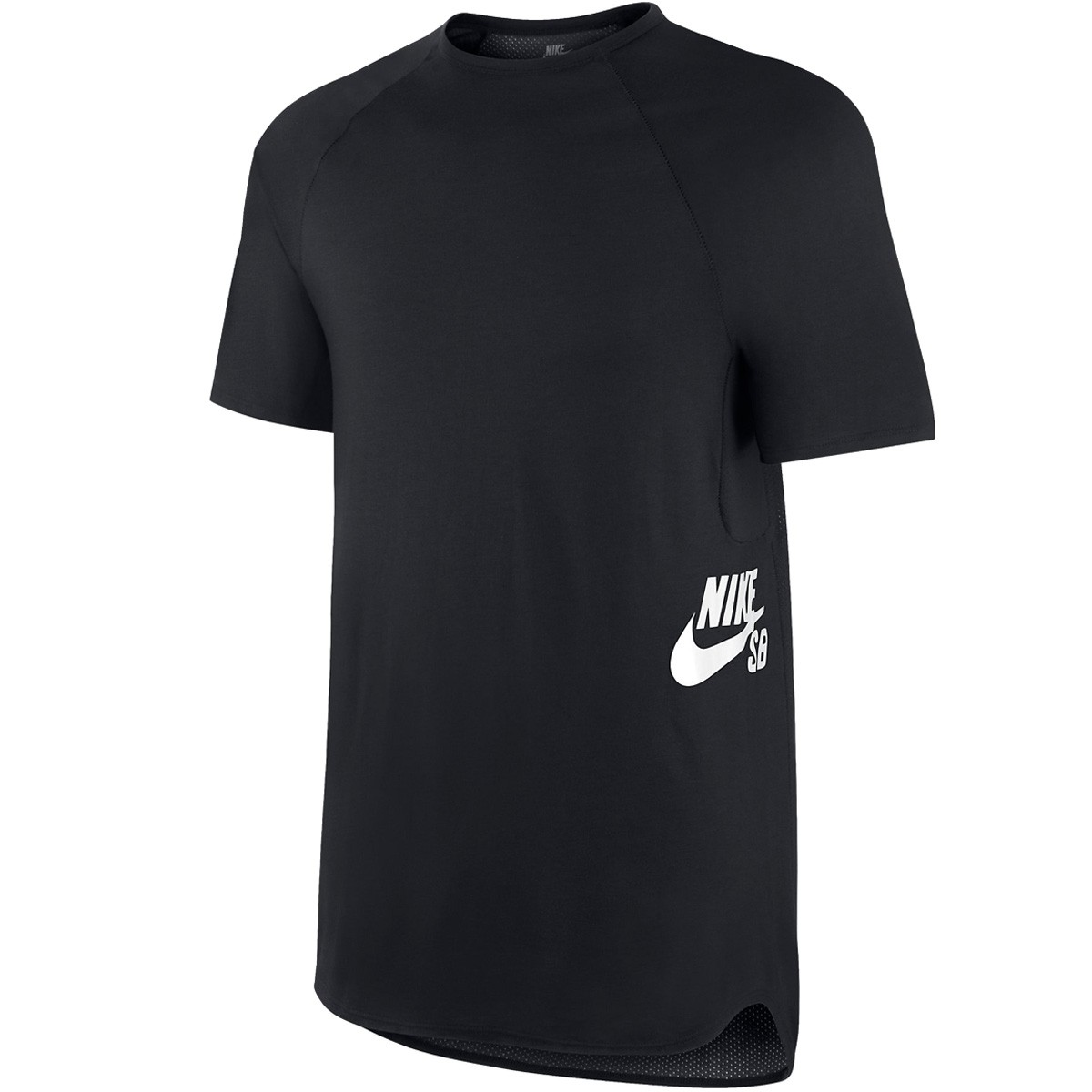 Nike Skyline Dri Fit T-Shirt - Black/White