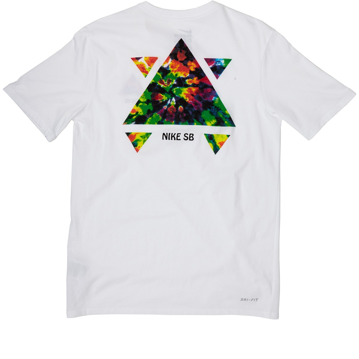 Nike sb tie dye qs t shirt white for Nike tie dye shirt and shorts