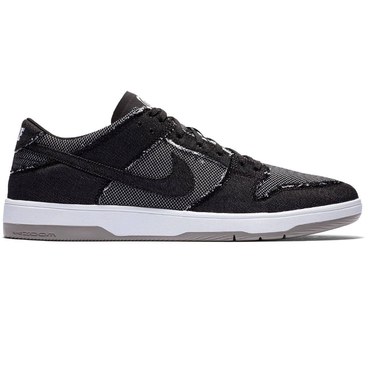 b2602140e23a Nike SB X Medicom Zoom Dunk Low Elite QS Shoes - Black Black White