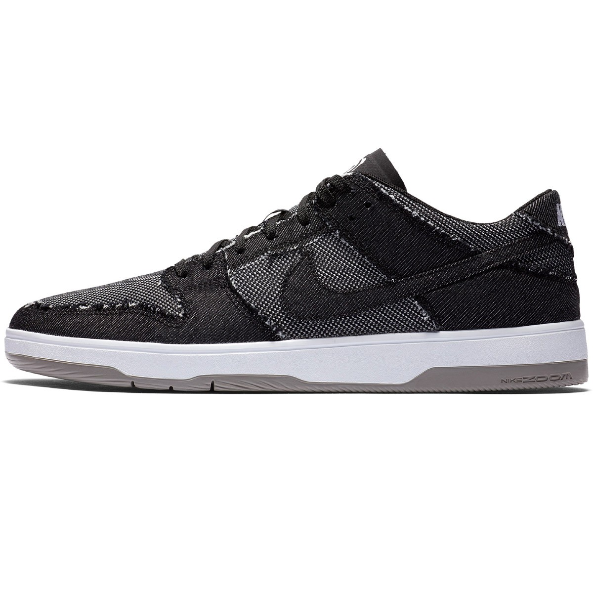 2064c2204c270 Nike SB X Medicom Zoom Dunk Low Elite QS Shoes - Black Black White