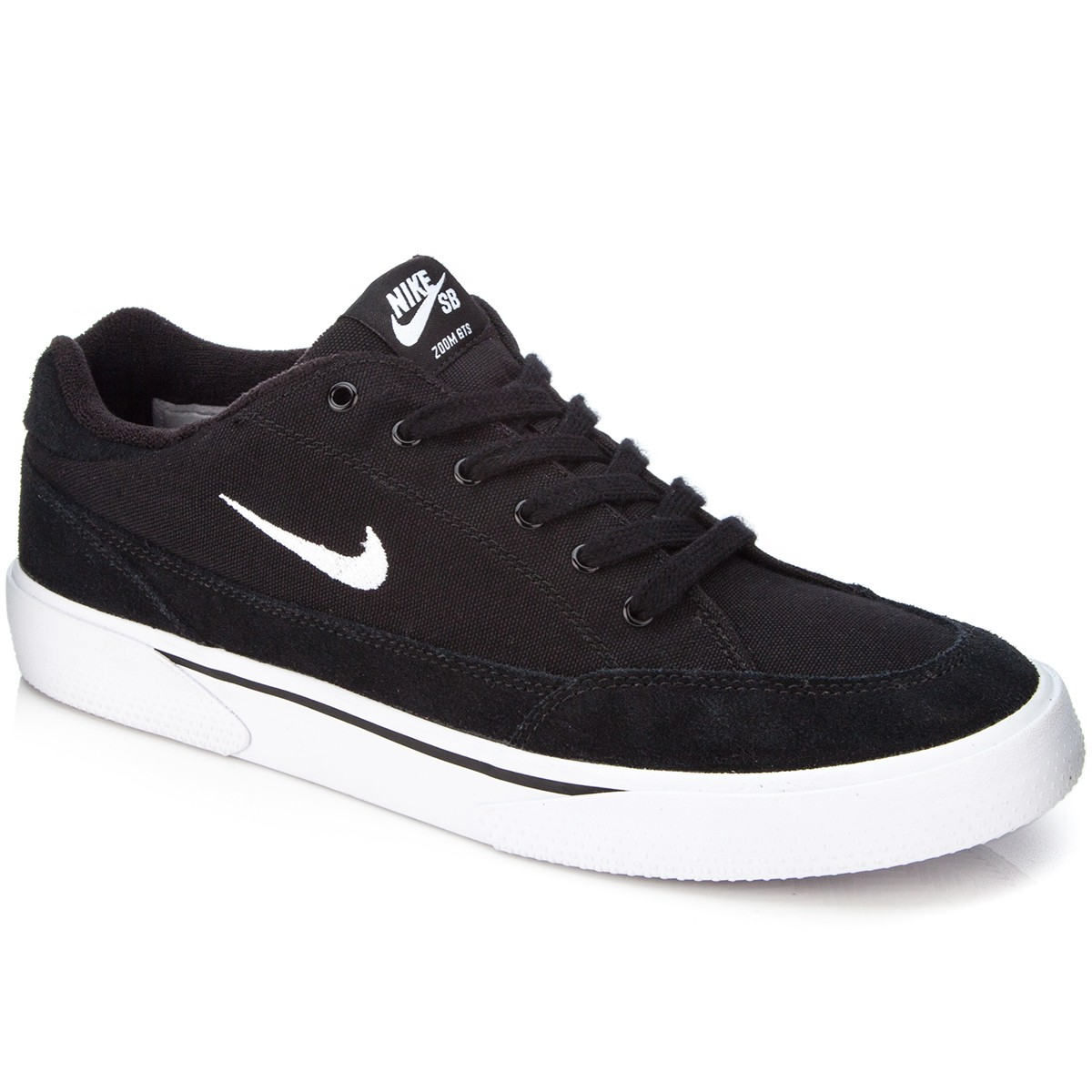 buy popular d8ce0 5a0d3 Nike SB Zoom GTS Shoes - Black White - 7.0