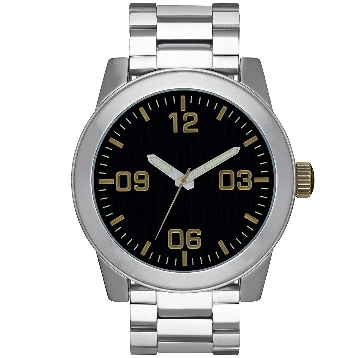 Nixon Corporal SS Watch - Black/Brass